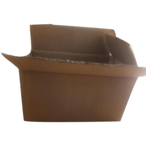 Brown Standard Rectangular Corrugated Box
