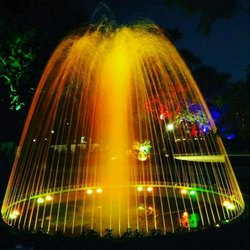 Multi Color /Crow Ring Fountain