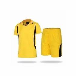 Yellow Football Shorts