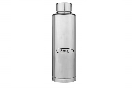 0e2868f8a32 Silver Rema - Stainless Steel Fridge Water Bottle - Available in 3 Sizes -  500ml -