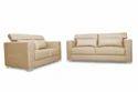 Adorn India Bentely 3 2 Sofa Set (Beige)