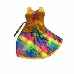 f68c20847 Peach, Sea Green Tommato Qt Pie Party Wear Baby Girls Frock Dress ...