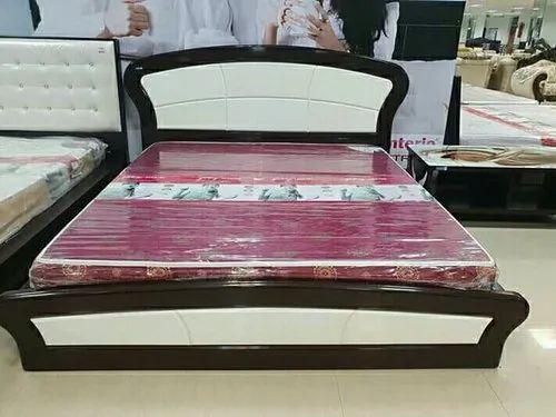 6807d2fb1e Sagwan Wood Bed, Size: 6fit, Rs 11000 /piece, Icon Interior Design ...