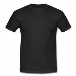 Mens Cotton Plain T-Shirt, Size: S to XXXL