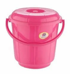Plastic Handle Bathroom Bucket 13 Ltr