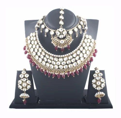 Bridal Wedding Jewelry Set Necklace Earrings