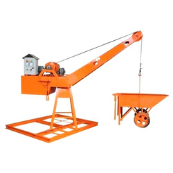 Portable Monkey Hoist Machine