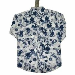 Cotton Printed Mufti Floral Shirt