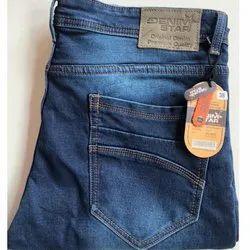 Casual Wear Button Denim Men Jeans, Waist Size: 38