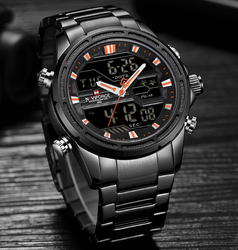 Round NF9138S Naviforce Luxury Men Watches, For Formal