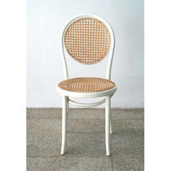 White Canning Chair