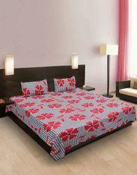Floral Cotton Bedsheet