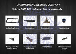 Sabroe SMC 100 Unloading Frame Mechanism Assembly