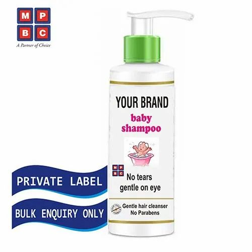 Oem Or Private Label Baby Shampoo