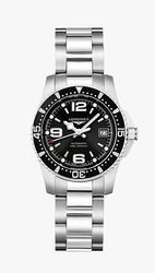 Hydro Conquest Silver Hand Watch