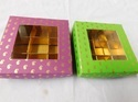 Custom Made Chocolate Boxes With Window Display And With Print