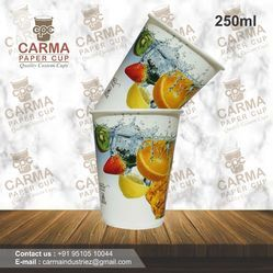 250ML Disposable Paper Cup