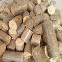 Round Blocks Biomass Coal, For Boilers, Packaging Size: Loose Pack