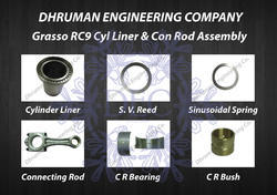 Grasso RC9 Cylinder Liner & Connecting Rod Assembly