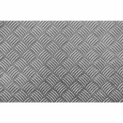 Checkered steel sheet
