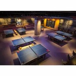 Table Tennis Court Flooring Service