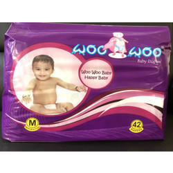 Medium Woo Woo Jumbo Pack Baby Diaper