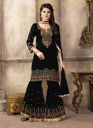 5b0d321201 sharara salwar Suit - Sharara Salwar Suit Manufacturer from Surat