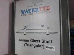 Corner Glass Shelf