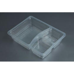 3 Compartment Plastic Food Container