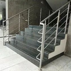 Balcony Bar Stainless Steel Railings, Material Grade: SS202, 304, 50 Mm
