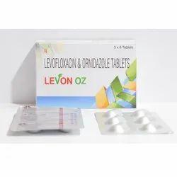 Levofloxacin & Ornidazole Tablet