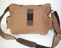 Heavy Duty Canvas Leather Shoulder Bag
