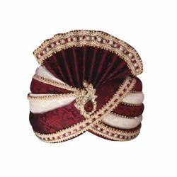Indian Wedding Velvet Safa