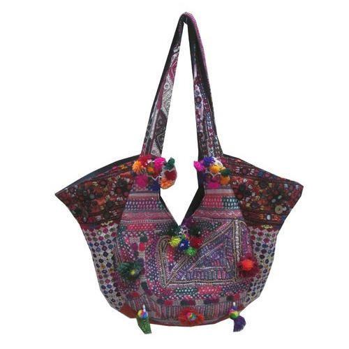 539956b3b2 Lucky Handicraft Printed Vintage Banjara Gypsy Bags