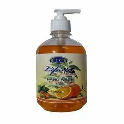 Orange Antibacterial Liquid Hand Wash, Packaging Size: Available In 250, 500 Ml, for Personal