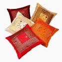 Designer Silk Cushion Cover