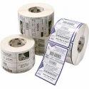 Rectangular Barcode Label Roll