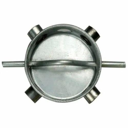 Steel Round Fan Ceiling Box