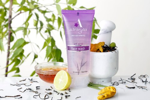 Aaranyaa Natural Anti Acne Face Wash, Oily And Acne Prone, Packaging Type: Tube