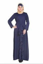 Libas Navy Blue Abaya Burqa Dress