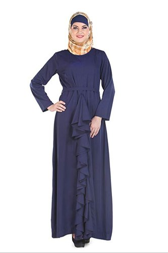 b65e67f1f3a40 Libas Navy Blue Abaya Burqa Dress