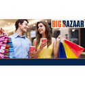 Printed Multicolor Big Bazaar Gift Card