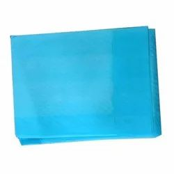 Blue Rectangular Disposable Underpad