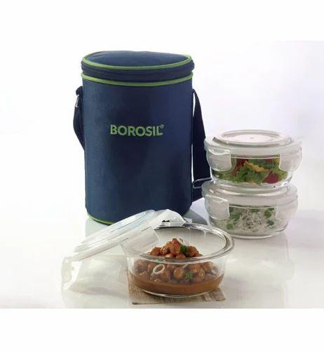 Borosil Lunch Box