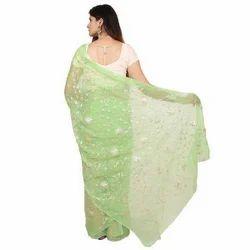 Chiffon Designer Party Wear Saree