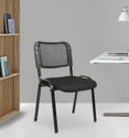 Mesh Fix Chair in Black Colour