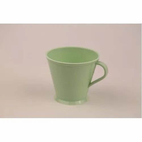 Plastic Green Coffee Cup, for Home