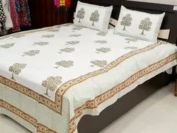 Jaipuri Bedsheets With Pillow Covers