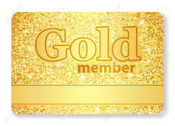 Multicolor Gold Card, For Membership