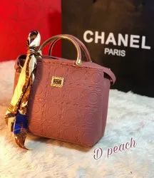 Many colours Pu Leather Ladies Handbag, For Casual Wear, Light Weight